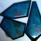 Chrysocolla W/Cuprite and Malachite 11.64 Grams