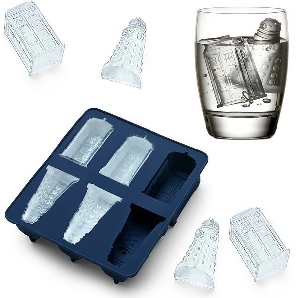 Sale Ice Tray DIY Accs Candy Chocolate Baking Mold Doctor Who Cocktail Happy Hours Top Quality