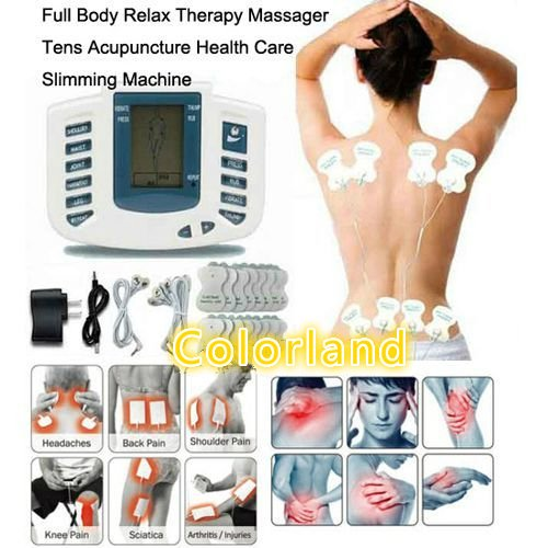 On sale Electrical Therapy Massager Slimming Machine Pulse tens Acupuncture Health Care Free Ship