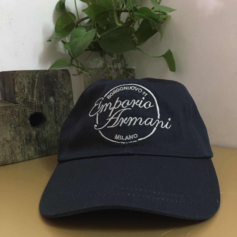 Men's cap hat casual cap denim cap baseball cap travel accs sport accs creative gifts Navy blue