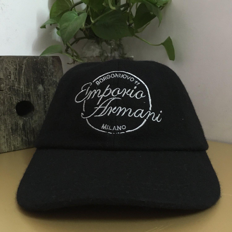 MEN Casual cap baseball cap 65% wool creative gifts Black birthday gifts sun cap smart cap