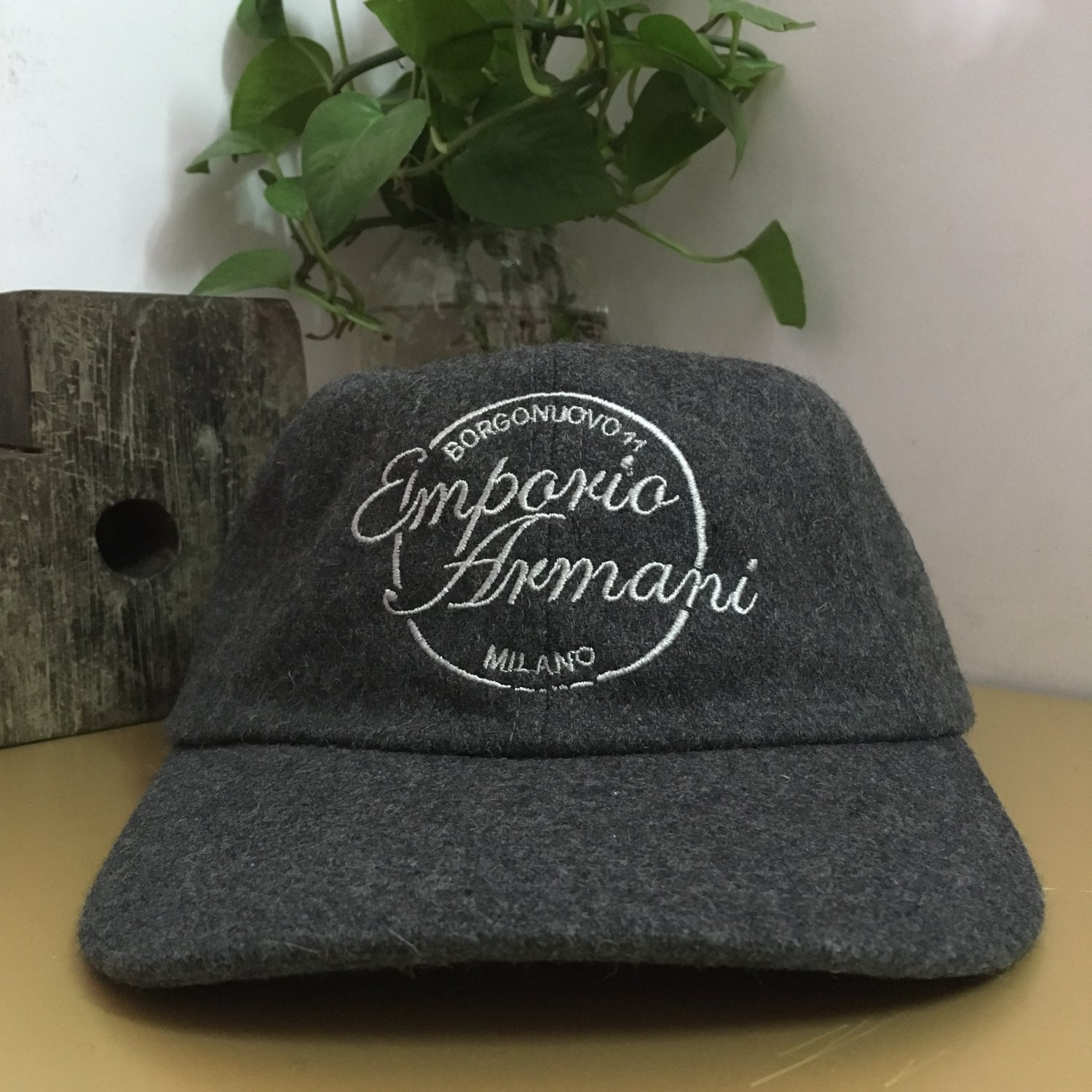 men cap hat casual sport outdoor accs travel accs 65% Wool creative gifts authentic Gray