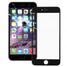 2 in 1 for iPhone 6 (Front Screen Outer Glass Lens + Frame)(Black)