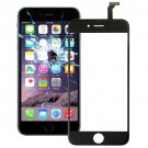 2 in 1 for iPhone 6 (Front Screen Outer Glass Lens + Flex Cable)(Black)