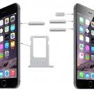 Original Card Tray & Volume Control & Screen Lock  & Mute Switch Vibrator Key  for iPhone 6(Silver)