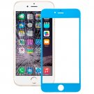 iPhone 6 Plus Front Screen Outer Glass Lens(Blue)