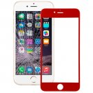 iPhone 6 Plus Front Screen Outer Glass Lens(Red)