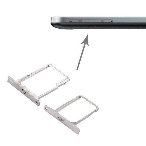 BlackBerry Classic / Q20 SIM Card Tray + Micro SD Card Tray(Silver)