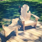 Michigan adirondack chair, Michigan chair, Michigan shaped chair, Mitten chair, MCSC30559