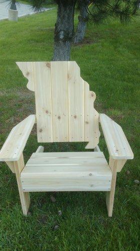Missouri adirondack chair, Missouri chair, Missouri shape chair, Missouri back chair, MOSC3559