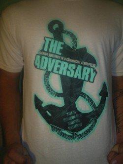 Cream Anchor T-shirt
