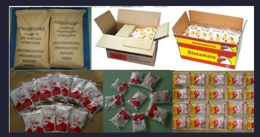 Sweetener effect of monosodium glutamate Monosodium Glutamate
