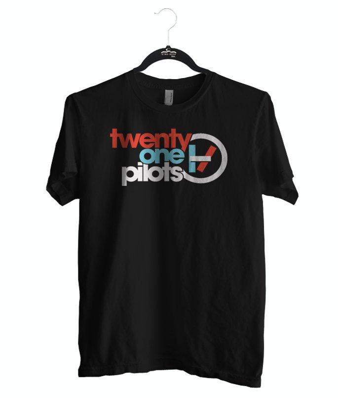 Twenty One Pilots shirt, T-shirt Band color black, size S M L XL 2XL Unisex Adult