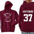Teen Wolf Hoodie, Beacon Hills Lacrosse Hoodie, Whittemore 37