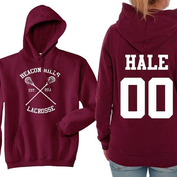 Teen Wolf Hoodie, Beacon Hills Lacrosse Hoodie, Hale 00