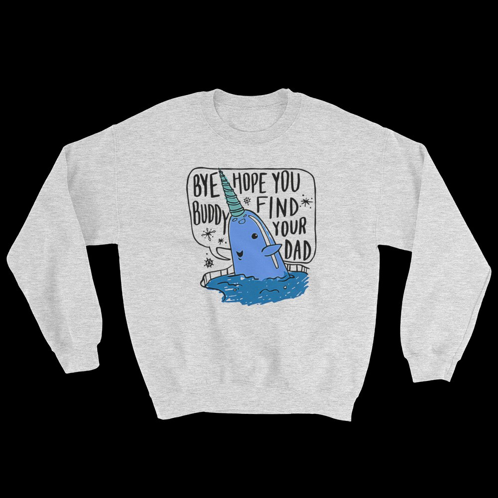 Mr. Narwhal Elf Crewneck Sweater, Funny Christmas Sweater