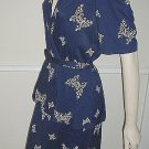 40's Nylon Butterfly Dress