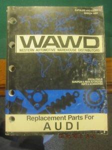 WAWD Western Automotive Warehouse Distributors Parts Catalog