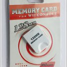 128MB Memory Card for Nintendo Wii/Game Cube in retail packaging, 128 mb wii