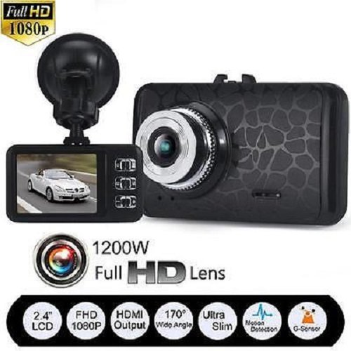 1080P HD CAR DVR G-sensor Vehicle Video Camera Recorder Dash Cam IR Night Vision