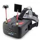 """Eachine VR D2 5"""" 800*480 40CH Raceband 5.8G Diversity FPV Goggles DVR Lens"""