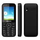 NUOVO Black Haweel X1 Mobile Phone, 2.4 inch, 1500mAh Battery, Dual SIM, Super Big Speaker