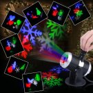 Colorful LED Lights Holiday Decoration Christmas Led Projector Home Garden