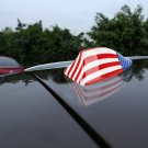 Universal USA Flag Pattern Car Antenna Aerial Shark Fin Radio Signal Auto SUV