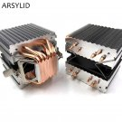ARSYLID CN-609A CPU Cooler 9cm Fan 6 Heatpipe Dual-tower Cooling For Intel LGA77