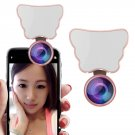 Beauty Selfie 80 LED Flash Fill Light Clip Camera 4K HD Wide Angle Macro Lens