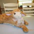 "Rare 18"" long Dakin ""Olive"" Curly Q- Plush Lamb by Applause"