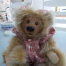 "Artist Kimbearly's Originals ALLY Limited Edition 8"" Teddy Bear A&A Rare"