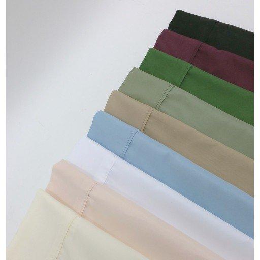 Split King Sheet Set 1500 COLLECTION - Wrinkle Resistant 95 GSM (Ivory)