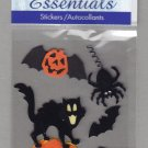 Sandylion Essentials Scrapbooking Stickers HALLOWEEN CAT bat spider pumpkin trick or treat 3D - ES24