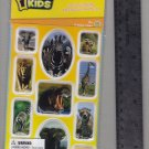 National Geographic KIDS stickers AFRICA zebra giraffe elephant lion