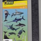 National Geographic KIDS stickers SEA LIFE shark dolphin turtle