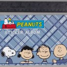 Sandylion Sticker Book Album PEANUTS Charlie Brown Linus Lucy Snoopy