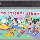 Sandylion Sticker Book Album BABY MICKEY MINNIE Daisy Daffy Pluto Goofy