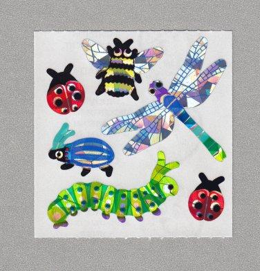 Sandylion Bugs Stickers Rare Vintage PM102