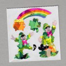 Sandylion Leprechaun Stickers Rare Vintage PM307