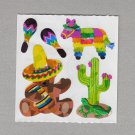 Sandylion Mexican Fiesta Stickers Rare Vintage PM315