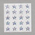 Sandylion Glitter Silver Stars Stickers Rare Vintage PM317