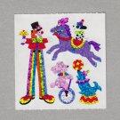 Sandylion Circus Sticker Rare Vintage PM328