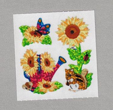 Sandylion Sunflowers Stickers Rare Vintage PM341