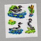 Sandylion Loon Stickers Rare Vintage PM342