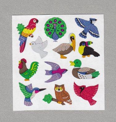Sandylion Birds Stickers Rare Vintage PM345