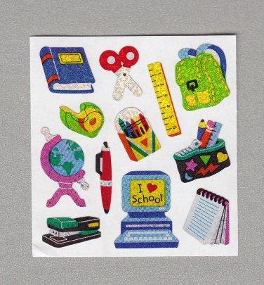 Sandylion School Micro Stickers Rare Vintage PM355