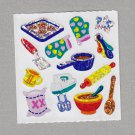 Sandylion Baking Cooking Stickers Rare Vintage PM356
