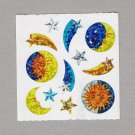Sandylion Sun Moon Stars Stickers Rare Vintage PM365