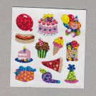Sandylion Birthday Party Stickers Rare Vintage PM368